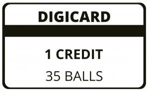 1 Credit Digicard
