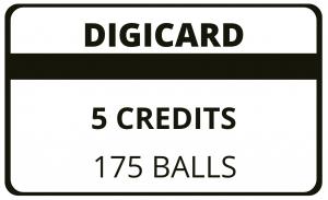 5 Credit Digicard