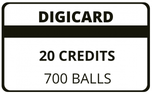 20 Credit Digicard